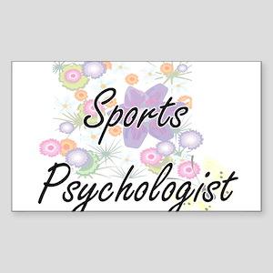 Sports Psychologist Artistic Job Design wi Sticker