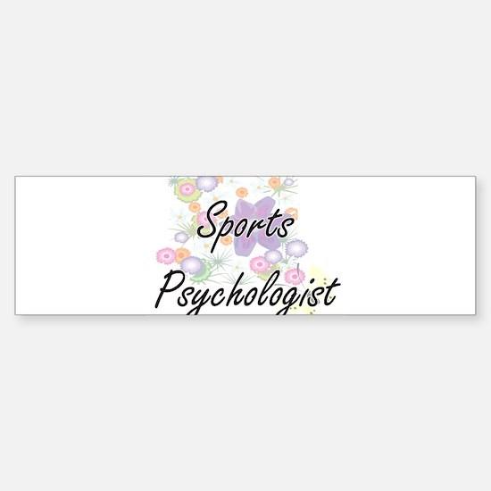 Sports Psychologist Artistic Job De Bumper Bumper Bumper Sticker
