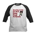 Restraints! Kids Baseball Jersey