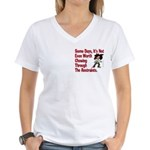 Restraints! Women's V-Neck T-Shirt