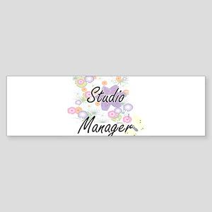 Studio Manager Artistic Job Design Bumper Sticker