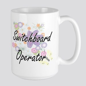 Switchboard Operator Artistic Job Design with Mugs