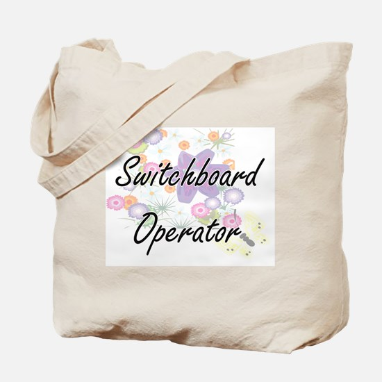 Switchboard Operator Artistic Job Design Tote Bag
