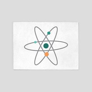 Atom Molecule 5'x7'Area Rug