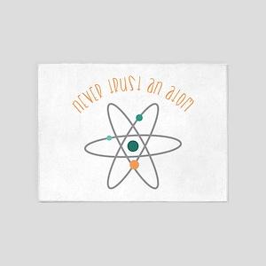 Trust An Atom 5'x7'Area Rug