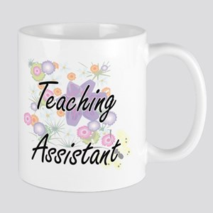 Teaching Assistant Artistic Job Design with F Mugs
