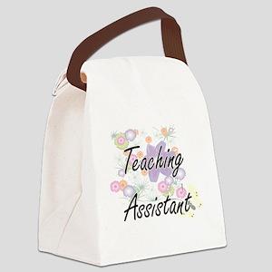 Teaching Assistant Artistic Job D Canvas Lunch Bag