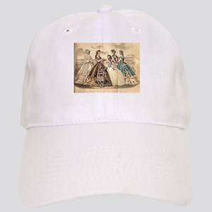 Godey's Ladies Book Victorian Fashion Plate We Cap