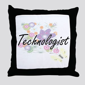 Technologist Artistic Job Design with Throw Pillow