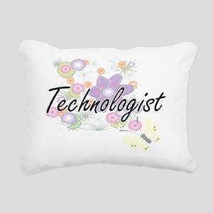 Technologist Artistic Jo Rectangular Canvas Pillow