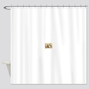 Godey's Ladies Book Victorian Fashi Shower Curtain