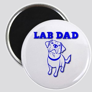 LAB DAD Magnet