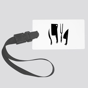 Butcher Knives Luggage Tag