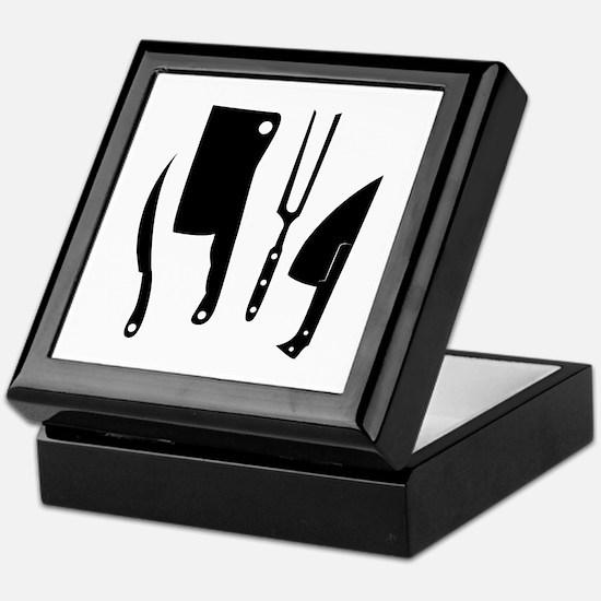 Butcher Knives Keepsake Box
