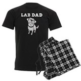 Lab dad Men's Dark Pajamas