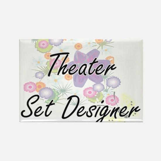 Theater Set Designer Artistic Job Design w Magnets