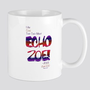 Echo Zoe by Tasha Dillon Mugs