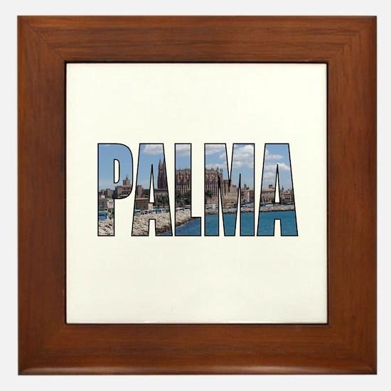 Palma Framed Tile
