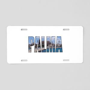 Palma Aluminum License Plate