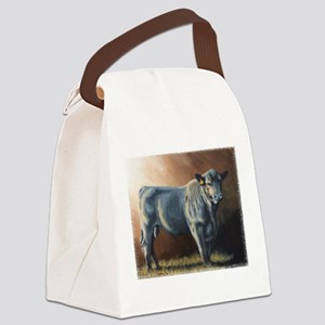 A lot of Bull Canvas Lunch Bag