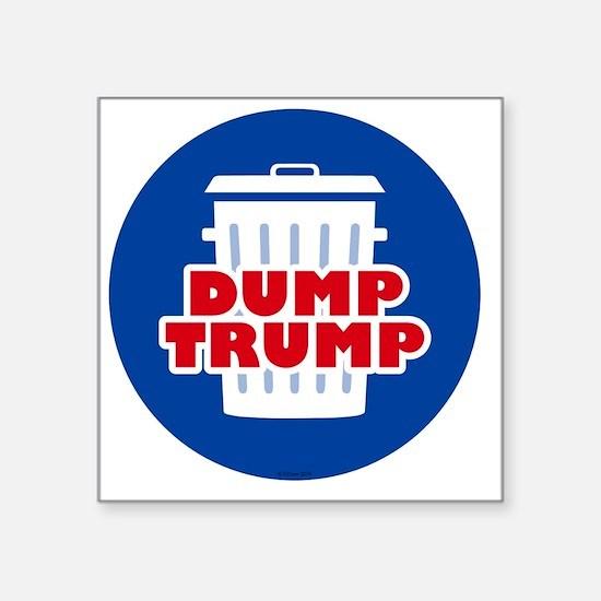 """Funny Political Square Sticker 3"""" x 3"""""""