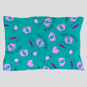 NICU Nurse Art Pillow Case