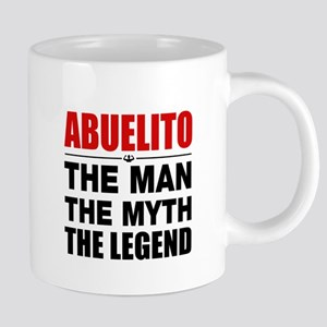 Abuelito Man Myth Legend Mugs