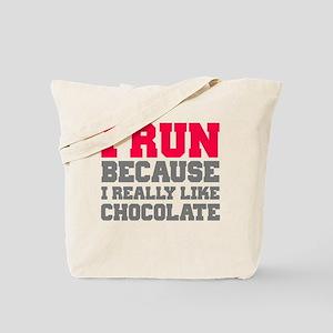 I Run Because I Really Like Cakes Tote Bag