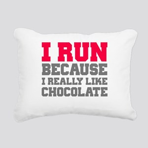I Run Because I Really Like Cakes Rectangular Canv