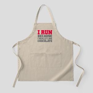 I Run Because I Really Like Cakes Apron