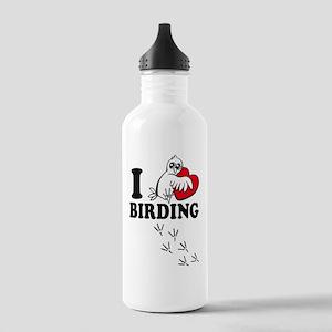 I love Birding Stainless Water Bottle 1.0L