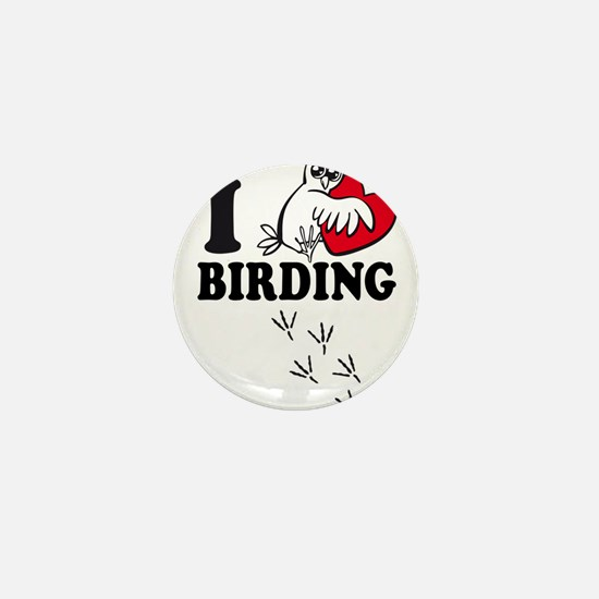 I love Birding Mini Button