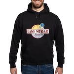 Lake Minear Beach Hoodie (dark)