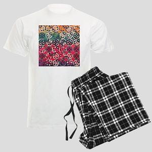 Grunge industrial pattern Men's Light Pajamas
