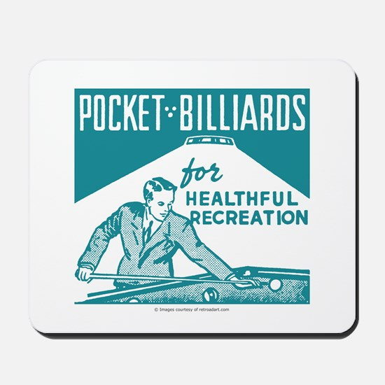 Pocket Billiards Mousepad