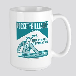 Pocket Billiards Large Mug