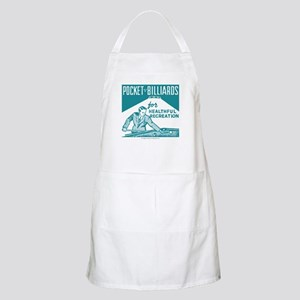 Pocket Billiards BBQ Apron