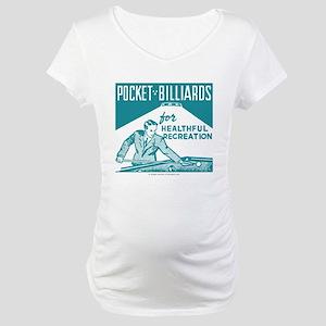 Pocket Billiards Maternity T-Shirt