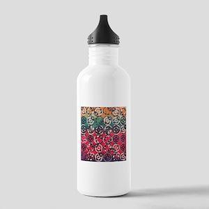 Grunge industrial patt Stainless Water Bottle 1.0L