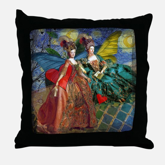 Unique Victorian Throw Pillow