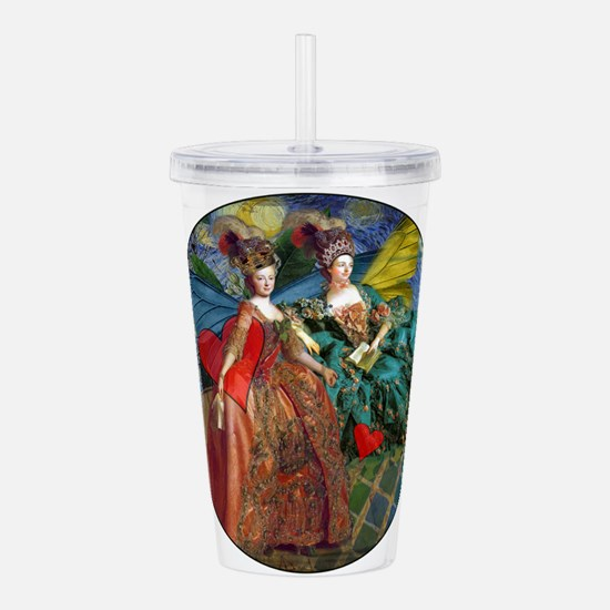Cute Victorian gothic Acrylic Double-wall Tumbler