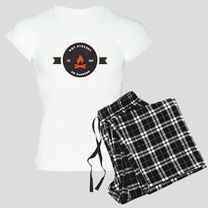 Got Stress? Go Camping. Women's Light Pajamas