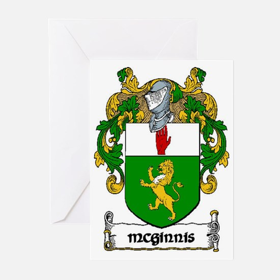 McGinnis Coat of Arms Greeting Cards (Pk of 20)