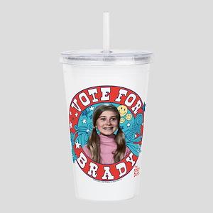 The Brady Bunch: Vote Acrylic Double-wall Tumbler