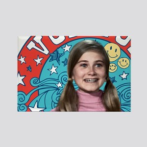 The Brady Bunch: Vote For Marsha Rectangle Magnet