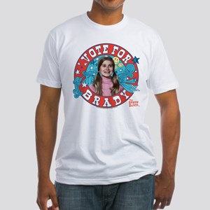 The Brady Bunch: Vote For Marsha Br Fitted T-Shirt