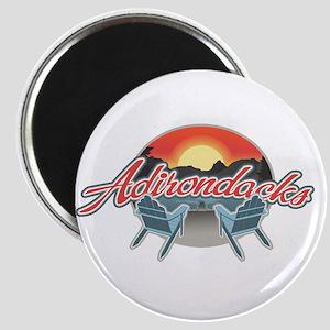 Threedown Adirondack Magnet