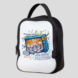 the brady bunch: the silver Neoprene Lunch Bag