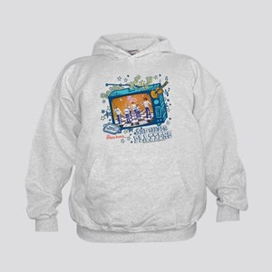 the brady bunch: the silver Kids Hoodie