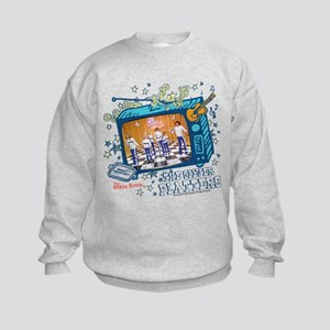 the brady bunch: the silver Kids Sweatshirt